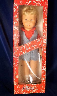 Vintage Kathe Kruse Doll in Box Cloth & Plastic 18 47 H West Germany CHARMING