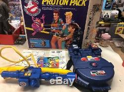 Vintage Kenner 1980s Real Ghostbusters Proton Pack With Original Box! Nice