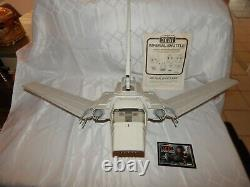 Vintage Kenner 1984 Star Wars Imperial Shuttle Vehicle With Original Box