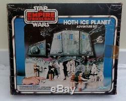 Vintage Kenner Star Wars 1980 Hoth Ice Planet Adventure Set 100% With Box