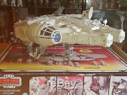 Vintage Kenner Star Wars Vintage Millenium Falcon 100% complete w box & insert