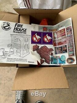 Vintage Kenner The Real Ghostbusters Firehouse HQ 1987 Playset With Box RARE