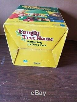 Vintage Kenner Tree Tots Family Tree House Dog Kennel Swing COMPLETE with BOX