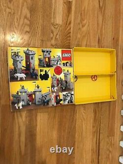 Vintage LEGO Knight's Castle 6073 withBox, and Instructions Excellent 100%