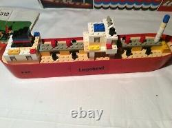 Vintage Lego Oil Tanker set 312 with box Classic rare hard to find