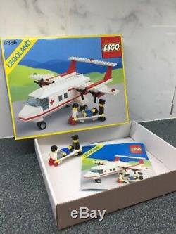 Vintage Legoland Classic 6356 Med-Star Rescue Plane Excellent Example Boxed