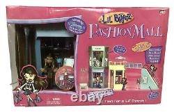 Vintage MGA Lil BratzComplete 5 In 1 Fashion Mall With Nerva Doll New In Box