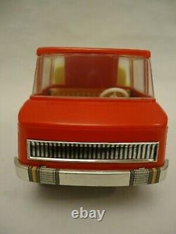 Vintage MSB Germany Tank Cistern Tin & Plastic Truck Toy DDR 60/70s + Box