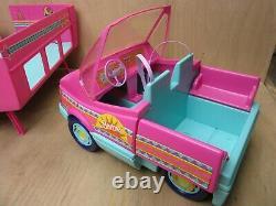 Vintage Mattel 1989 Barbie Western Fun Motor Home Camper Van with Original Box