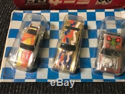 Vintage Mattel Minica Hot Wheels Red Line G&S Set 3 Car Plastic Model JP Red Box