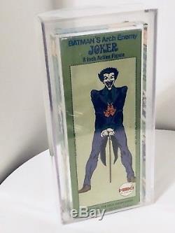 Vintage Mego 1973 The JOKER 8 Figure Window Box (withperf Tab) AFA Rated (EX)Rare