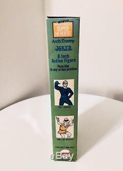 Vintage Mego 1973 The Joker Mint In Original Window Box VHTF (withperf Tab)