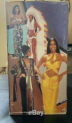 Vintage Mego Cher Dressing Room in Box Complete with Extras 1970s