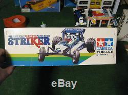 Vintage NIB / boxed, complete Tamiya Striker 1/10