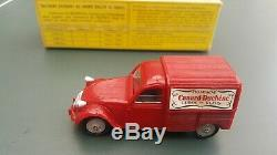 Vintage Norev Citroen 2 CV Commercial. Canard-Duchene. Champagne. Mint/Boxed