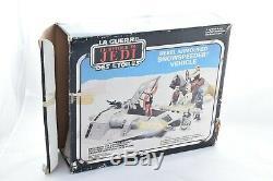 Vintage Palitoy Star Wars ROTJ Rebel Snowspeeder 1980 fully working BOXED