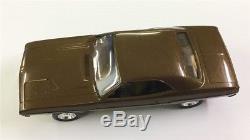 Vintage Plastic 1973 Dodge Challenger Dealer Promo Car IN BOX