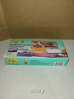 Vintage Polly Pocket Pretty Hair Play Set In The Box Mattel Bluebird
