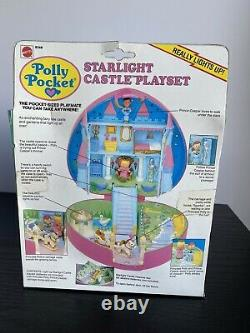 Vintage Polly Pocket Starlight Castle- NEW IN BOX! Extremely Rare
