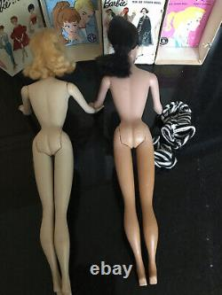 Vintage Ponytail Barbie Doll 3 and 4 with Box