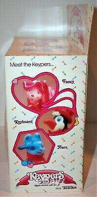 Vintage Rare 1986 Tonka Keypers Fancy Snail & Footloose New in Box MIB 7970