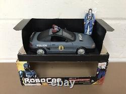 Vintage Retro 1994 Toy Island Robocop Ocp Interceptor Car With Figure & Box