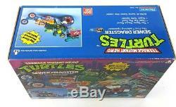 Vintage SEWER DRAGSTER Teenage Mutant Hero Turtles Unopened MISB Boxed Ninja