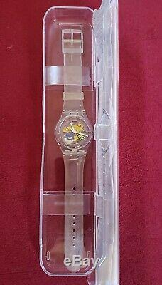 Vintage SWATCH Watch Random Ghost SUOK111 Never Been Out of the Box Needs Bat