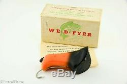 Vintage Scarce We D Flyer Minnow Antique Lure in Box with Papers Very Cool GH341