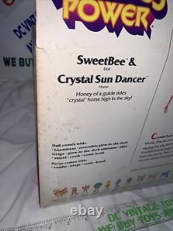 Vintage She-Ra Princess of Power Sweet Bee & Sun Dancer 1985 MISB Sealed