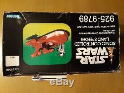 Vintage Star Wars 1977 Sonic Controlled Land Speeder With Box AFA