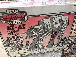 Vintage Star Wars 1982 The Empire Strikes Back At-At Imperial Walker with Box