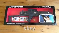 Vintage Star Wars 3 position Laser rifle Kenner Complete and Mint in Repro Box