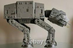 Vintage Star Wars AT-AT Walker 1983 & AT-AT Driver/Commander Mint Boxed Kenner