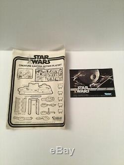 Vintage Star Wars Creature Cantina Playset Kenner Complete With Box & Instructions