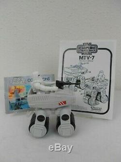 Vintage Star Wars ESB 1981 MTV-7 Mini-Rig withBox & Figure Very Nice COO HK