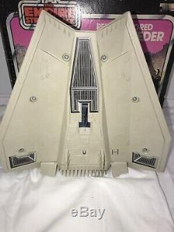 Vintage Star Wars ESB 1981 Snowspeeder Complete Working withBox Clean Kenner