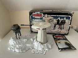 Vintage Star Wars ESB Turret & Probot Playset Complete Palitoy Boxed 1981 Rare