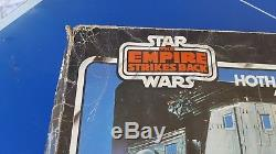 Vintage Star Wars Empire Strikes Back Hoth Ice Planet Adventure Set with Box