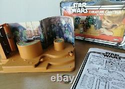 Vintage Star Wars Kenner Creature Cantina Action Playset, SW Box 1977