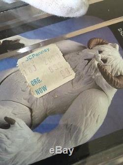 Vintage Star Wars Kenner Original ESB Hoth WAMPA Factory Sealed Box AFA 80