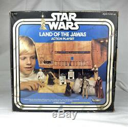 Vintage Star Wars Land Of The Jawas Playset Box 1979 Kenner