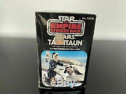 Vintage Star Wars OPEN BELLY TAUNTAUN With Box Mint Condition! White belly