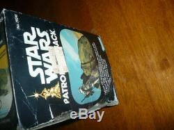 Vintage Star Wars Patrol Dewback In Original Box