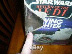 Vintage Star Wars ROTJ B-Wing Fighter in the Original Box! Sounds Work