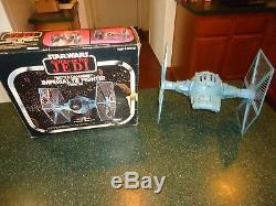 Vintage Star Wars ROTJ Battle Damaged Tie Fighter in Original Box