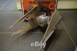 Vintage Star Wars ROTJ Trilogo TIE Interceptor Boxed Palitoy
