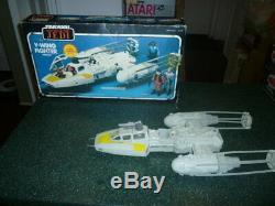 Vintage Star Wars ROTJ Y-Wing Fighter in the Original Box