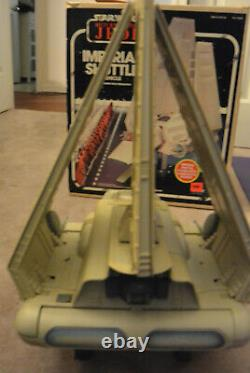 Vintage Star Wars Return of the Jedi 1984 Imperial Shuttle Vehicle In Box Kenner