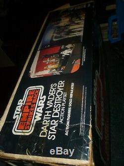 Vintage Star Wars Star Destroyer Playset with the Original Box